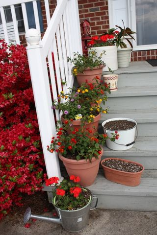 Front porch steps