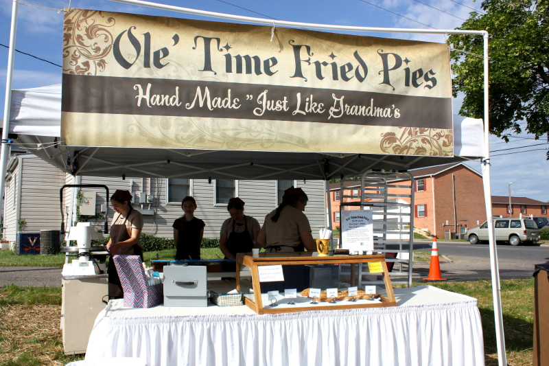 The fried pies were delicious!