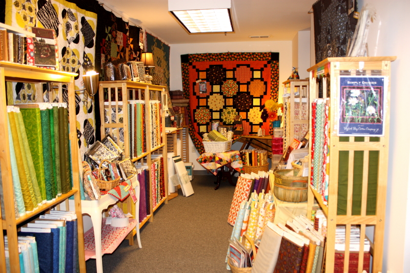 Inside Kelly Anne's Quilting
