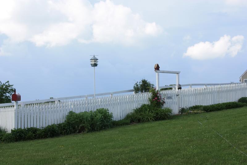 Picket fence garden ~ 2013