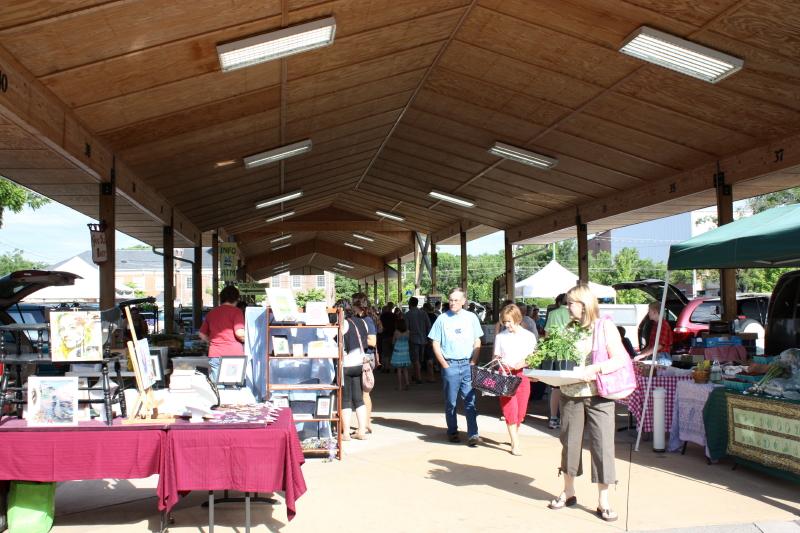 Farmers' Market in Harrisonburg