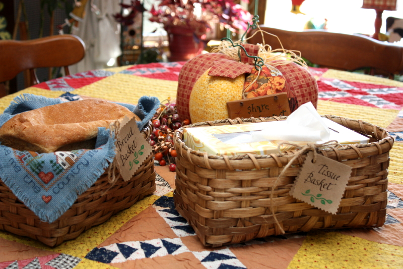 Baskets ready for the craft show!