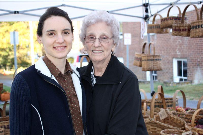 Hannah and Granny ~ Dayton 2013