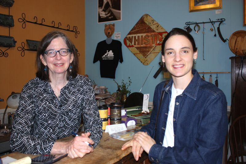 Holly, owner of Noon Whistle, and Hannah