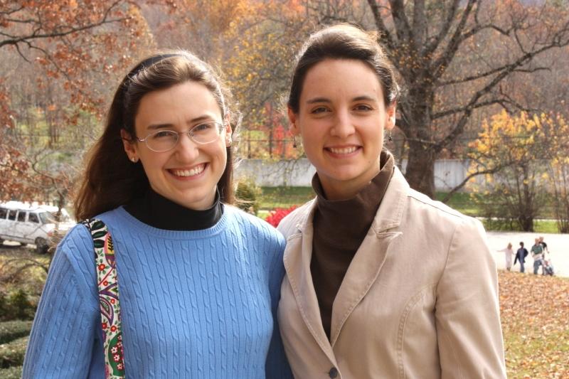 Sarah and Hannah at Ridgecrest