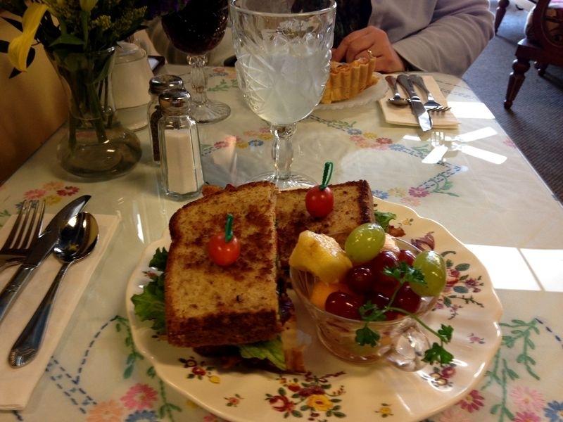 Tom's lunch