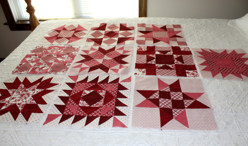 Saturday Sampler blocks