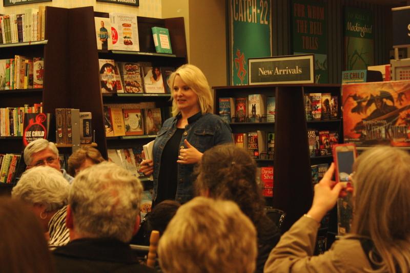 Christy Jordan's book signing in Greenville, SC