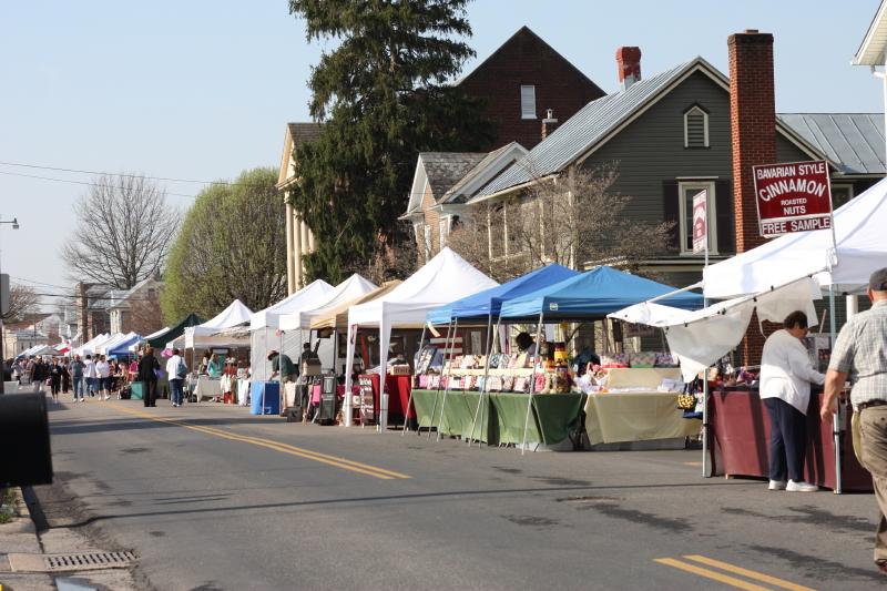 College Street ~ Dayton, VA ~ Redbud Festival