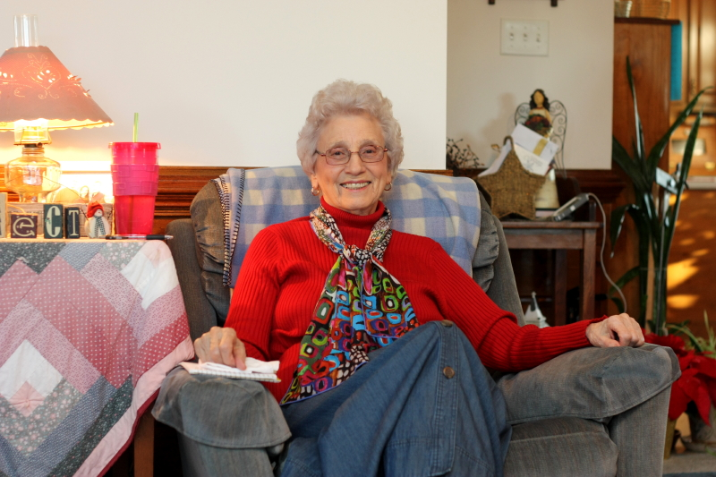 Granny ~ home for Christmas