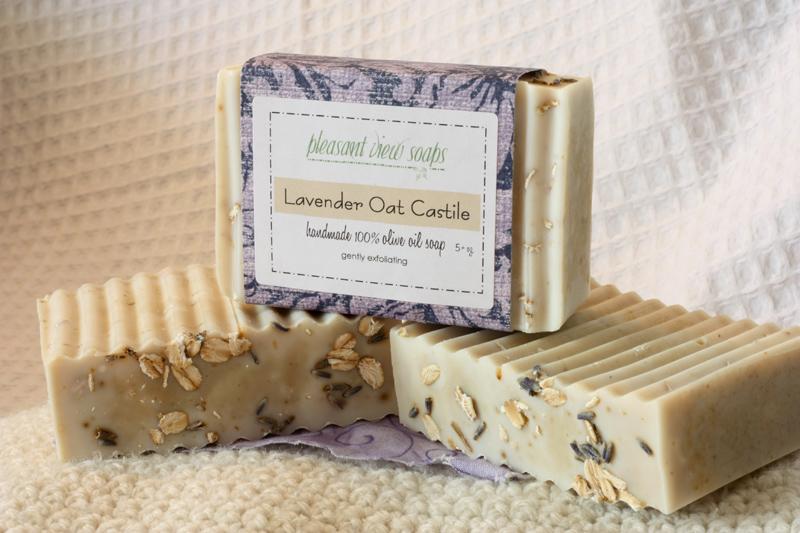 Lavender Oat Castile Pleasant View Soaps