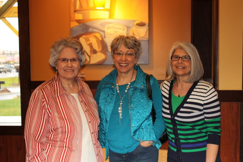 Deb, Sue & Nancie ~ friends for 35 years