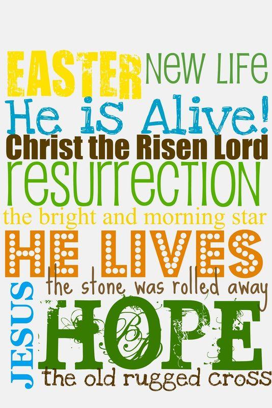 He's Risen!