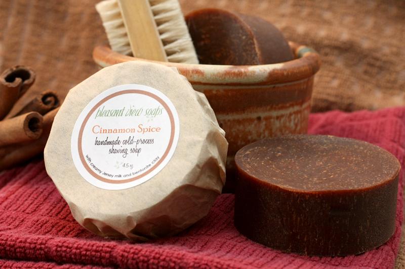 Shaving Pleasant View Soaps