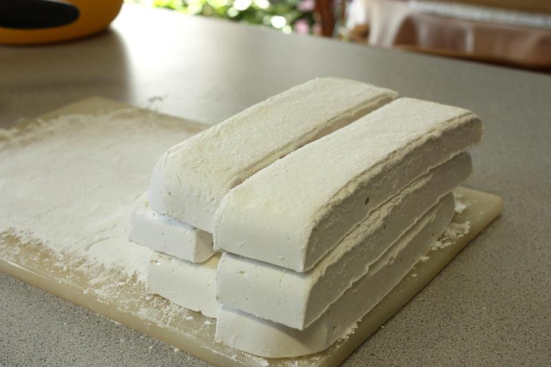 Marshmallow strips