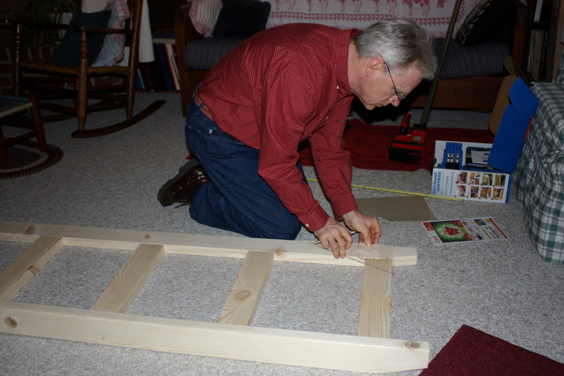 Measuring the ladder