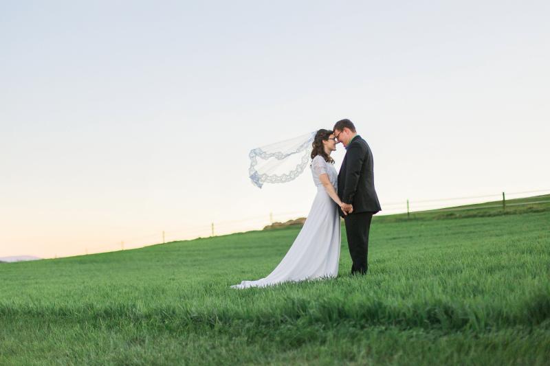 Bride and Groom ~ Carla Jane Photography