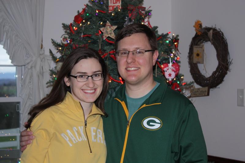 Sarah and Eric ~ Christmas, 2015