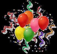 Birthday balloons for Hannah!