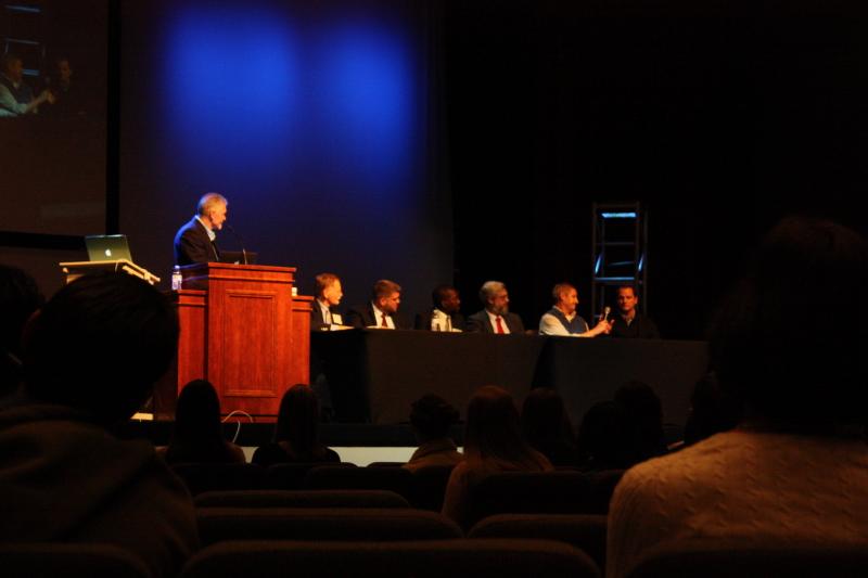 Speakers panel