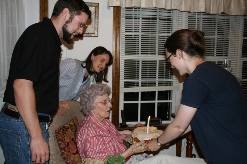 The kids celebrated with Granny ~ 2015