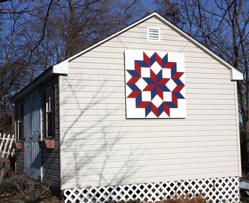 barn quilt by Barbara Cline