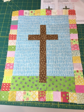 Easter wall hanging made by Chris