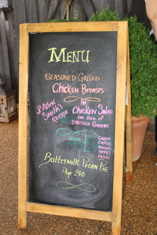 Menu at Moss Mountain Farm ~ June 3, 2016