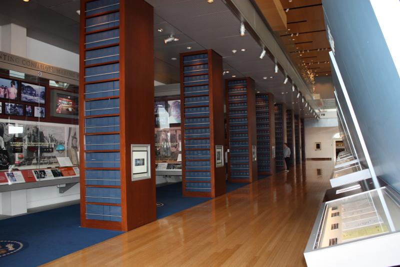 Museum Blue Boxes