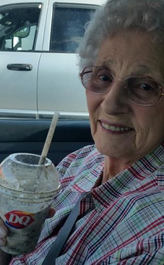 Granny at DQ