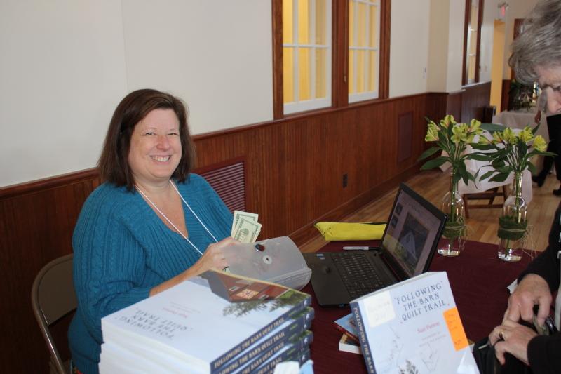 Book signing with Suzi Parron