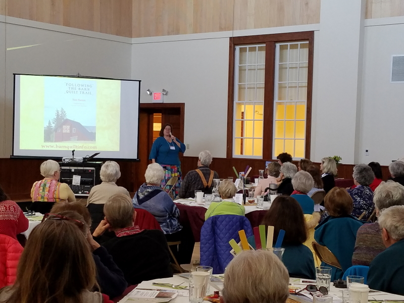 Suzi Parron talks quilts and their stories