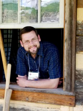 Jonathan at the American Farmhouse