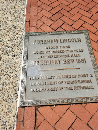 Abraham Lincoln was here...long ago