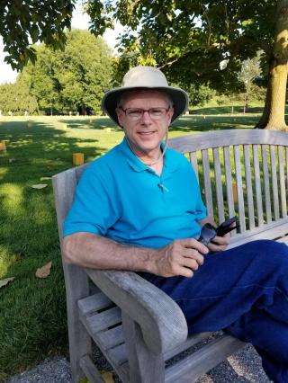 Tom at Longwood Gardens