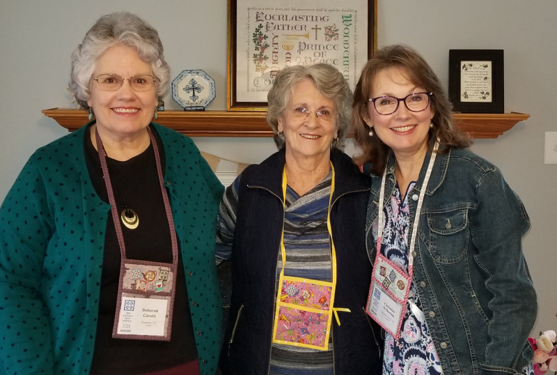3 quilty girls headed to the quilt show!