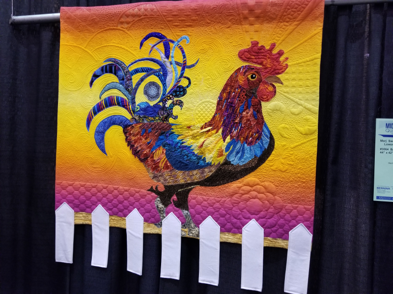 Rooster quilt
