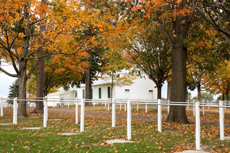 Amish Churchyard, Dayton, VA