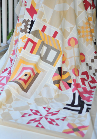 Vintage Farmhouse Quilt by Fig Tree