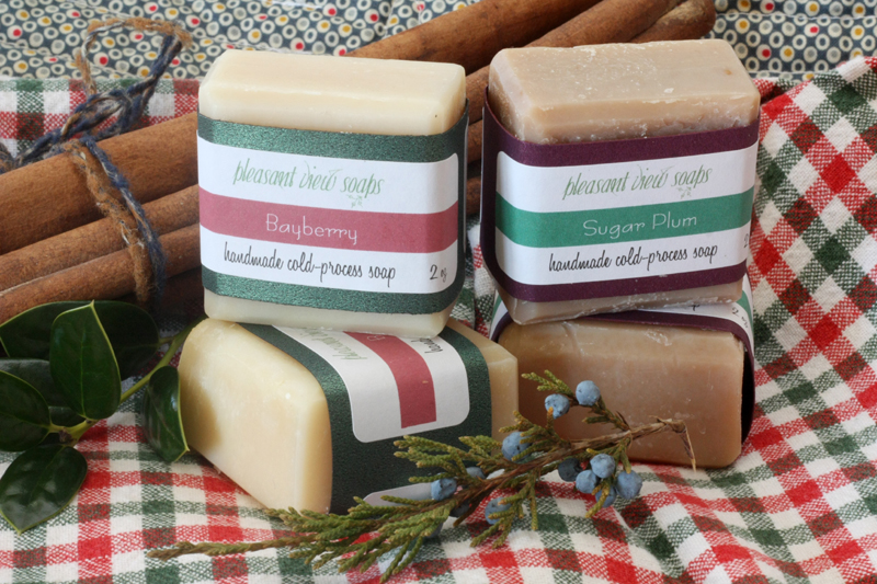 Bayberry soap for Christmas season
