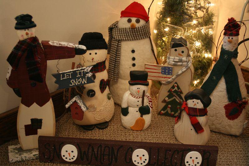 Granny's snowmen