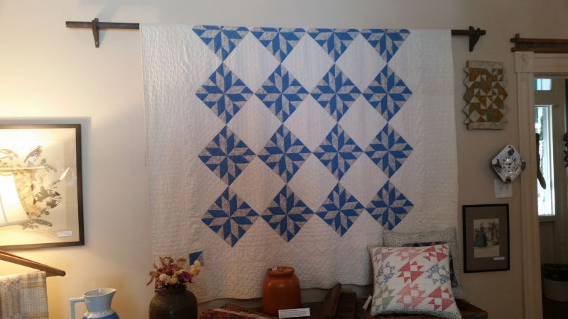 Vintage quilt at Appalachian Piecework