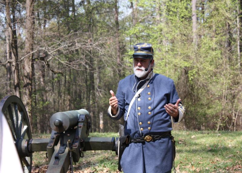 Historian Bill Potter speaks at Cheatham's Hill