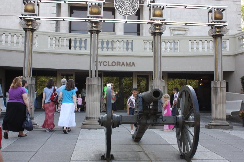 Cyclorama entrance