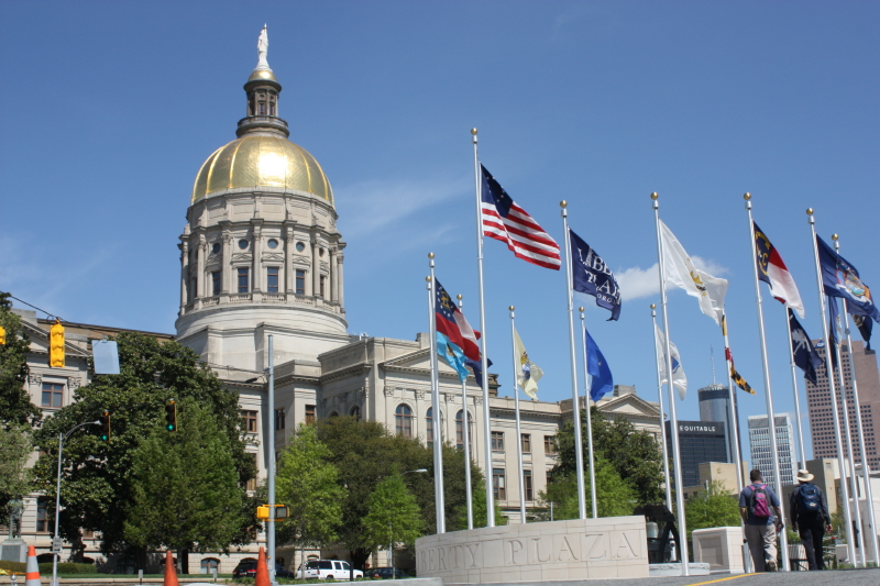 Georgia Capitol ~ impressive!