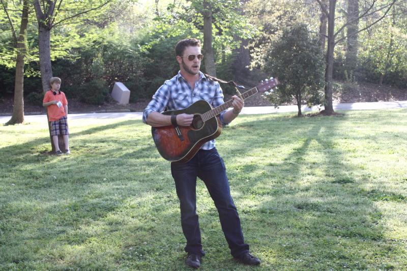 Samuel Turley singing Dixie
