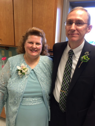 The groom's parents