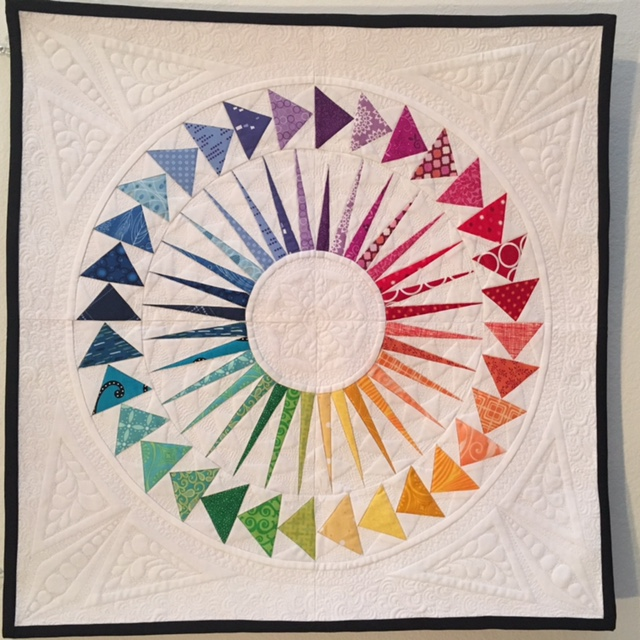 NY Beauty Flying Geese by Jen, Quilter in the Closet