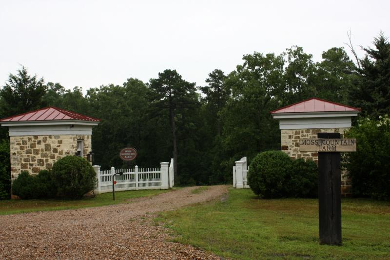 Entrance Moss Mountain Farm