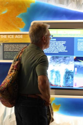 reading informative exhibits